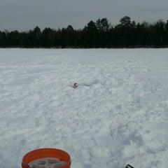 Photo taken at Leader Lake by Jason G. on 2/17/2013