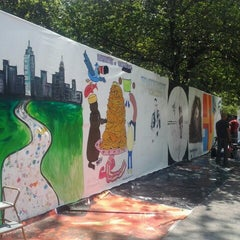 Photo taken at Tompkins Square Park by Anna K. on 6/2/2013