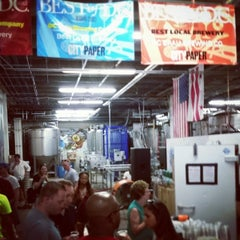 Photo taken at DC Brau Brewing Co by Thomas S. on 8/16/2014
