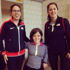 Photo taken at Indoor Track & Tennis Facility (ITT) - Smith College by Becky C. on 11/9/2013