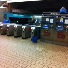 Photo taken at West Oakland BART Station by James 6 shotta B. on 11/17/2012