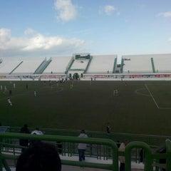 Photo taken at Stade Slaheddine Bey (CSHL) by merKKur🌃 on 11/8/2014