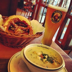 Photo taken at Spaten-Franziskaner Brau GmbH by Sonia F. on 5/16/2013