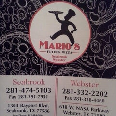 Photo taken at Mario's Flying Pizza by Kisha W. on 5/24/2014