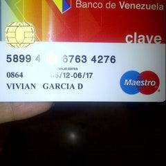 Photo taken at Banco de Venezuela by Vivianc G. on 10/9/2012