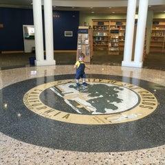 Photo taken at San Carlos Library by Olga S. on 4/6/2016