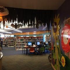 Photo taken at San Carlos Library by Olga S. on 10/21/2015