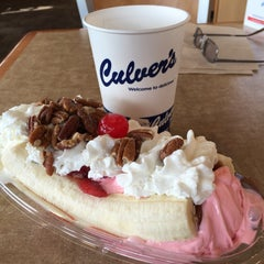 Photo taken at Culver's by John L. on 3/12/2015