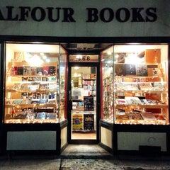Photo taken at Balfour Books by Matthew B. on 1/30/2014