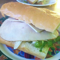 Photo taken at Super Sandwiches by Ruby M. on 12/28/2012