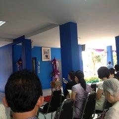 Photo taken at โรงเรียนสอนคนตาบอดพระมหาไถ่พัทยา (Pattaya Redemptorist School for The Blind) by Yj N. on 4/23/2013
