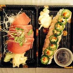 Photo taken at Sushi Ajito by Shannon D. on 7/6/2014