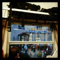 Photo taken at Železniční stanice Kropáčova Vrutice by Veronika D. on 11/19/2012
