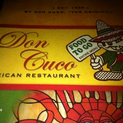 Photo taken at Don Cuco Mexican Restaurant by David K. on 2/17/2013