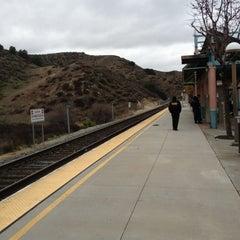 Photo taken at Metrolink Santa Clarita Station by Carlitos' W. on 12/17/2012