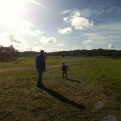 Photo taken at Alston Dog Park by Louisa H. on 11/18/2012