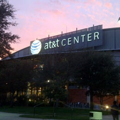 Photo taken at AT&T Center by Andrea V. on 12/7/2012