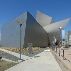 Photo taken at Denver Art Museum by Christopher W. on 3/27/2013