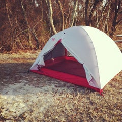 Photo taken at Assateague Island National Campsite Suite A6 by Johnny L. on 11/30/2012