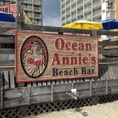 Photo taken at Ocean Annie's Beach Bar by Lissette C. on 9/3/2013