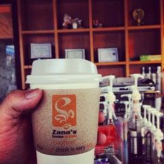 Photo taken at Zana's Bean Coffee by Kriangkrai S. on 11/7/2013