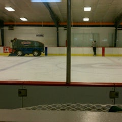 Photo taken at Raleigh Center Ice by Matthew H. on 10/21/2012