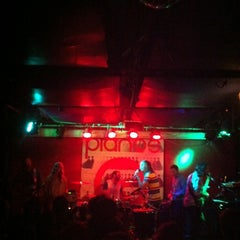 Photo taken at Pianos by Mantis E. on 11/9/2012