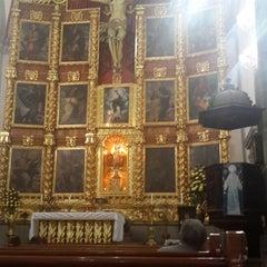 Photo taken at La Parroquia De San Gabriel Arcángel by Carlos V. on 6/2/2014