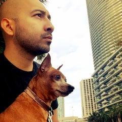Photo taken at Miami Circle Park by Peter O. on 10/18/2015