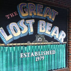 Photo taken at The Great Lost Bear by Justin on 10/16/2012