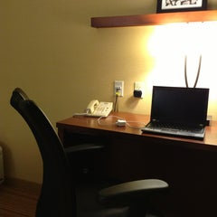 Photo taken at Courtyard Marriott by Jun H. on 3/2/2013