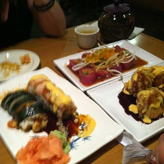 Photo taken at Gin Sushi by King E. on 5/1/2013