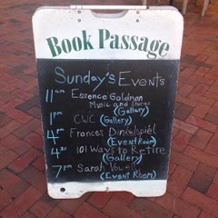 Photo taken at Book Passage Bookstore by Sean R. on 10/26/2015