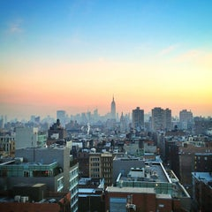 Photo taken at Sheraton Tribeca by Stephan S. on 1/9/2013