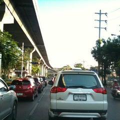 Photo taken at แยกโรงกรองน้ำ (Rong Krong Nam Junction) by Pitakpong S. on 5/2/2013