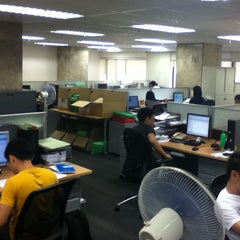 Photo taken at BPI Head Office by Jeri on 1/26/2013