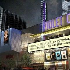 Photo taken at Violet Crown Cinema by Master M. on 3/9/2013