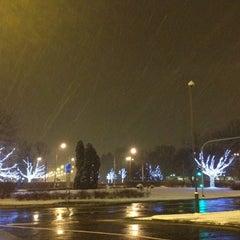 Photo taken at Plac Wilsona by Carolina N. on 12/7/2012