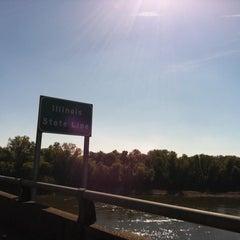 Photo taken at Missouri / Illinois State Line by Gretchen E. on 10/15/2012