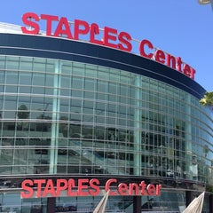 Photo taken at STAPLES Center by Naoya T. on 8/21/2013
