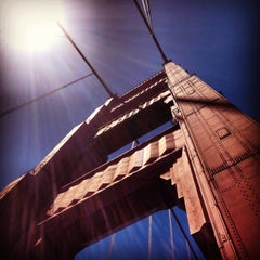Photo taken at Golden Gate Bridge by Romit B. on 5/31/2013