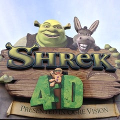 Photo taken at Shrek 4-D by Scott M. on 11/13/2012