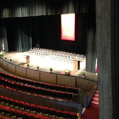 Photo taken at Stephens Auditorium by Becky V. on 5/11/2013