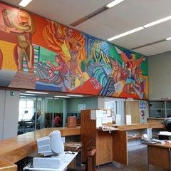 Photo taken at Biblioteca De Posgrado Enzo Levi by Christopher K. on 8/16/2013