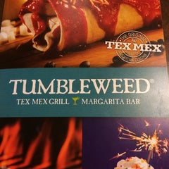 Photo taken at Tumbleweed Tex Mex Grill by Paul M. on 9/5/2014