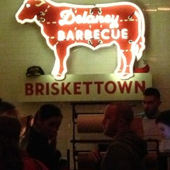 Photo taken at Delaney Barbecue: BrisketTown by Peter W. on 1/13/2013