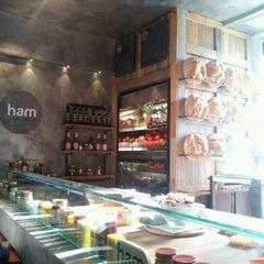 Photo taken at Ham Holy Burger by shishi L. on 1/22/2012