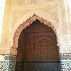 Photo taken at Saadian Tombs | قبور السعديين by Patricia M. on 3/30/2013