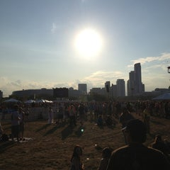 Photo taken at FirstMerit Bank Pavilion at Northerly Island by Skip on 7/20/2013
