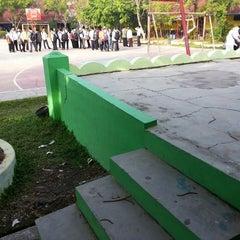 Photo taken at SMA Negeri 4 Medan by Rizal H. on 7/11/2013
